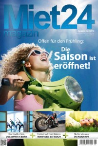 Miet24 Magazin - Ausgabe April 2012