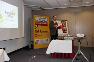 BüroWARE RENT auf der SoftENGINE Roadshow in Münster
