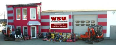 Firmensitz der Fa. WSU Baumaschinen in Dortmund