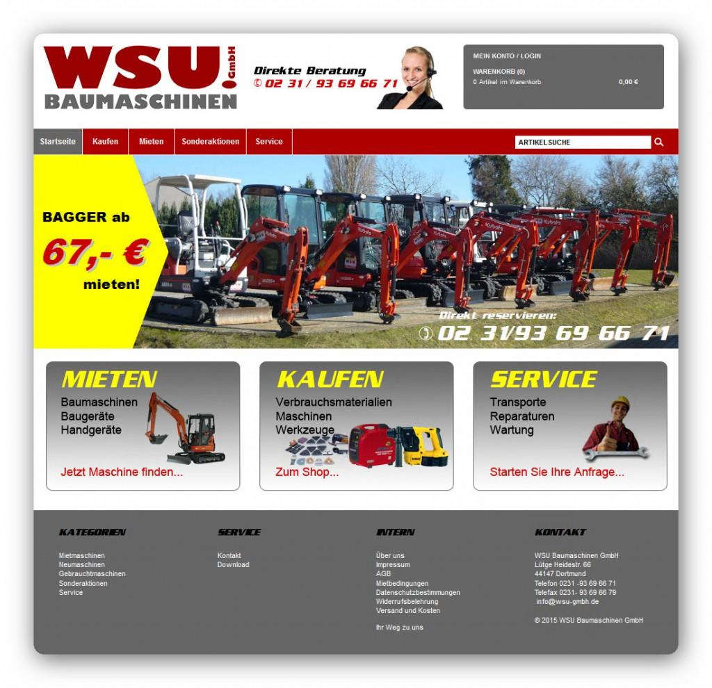 WSU Baumaschinen Shop